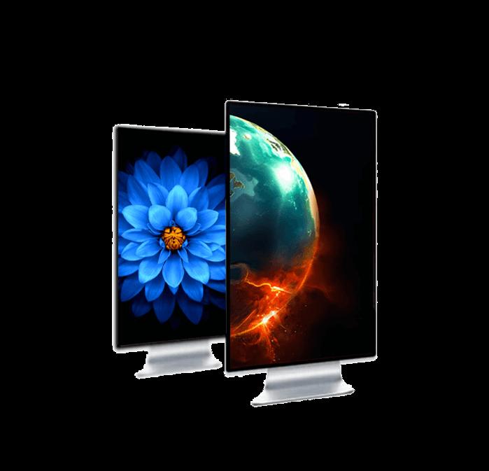 Poster LCD schermi e display LCD digital donk